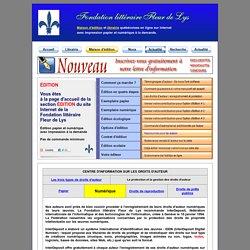 Centre d'information sur le droit d'auteur / Fondation littéraire Fleur de Lys