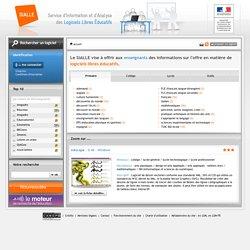 Sialle: Service d'Information et d'Analyse des Logiciels Libres éducatifs
