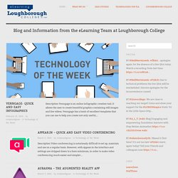 eLearning: Blog and Information from the eLearning Team at Loughborough College