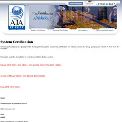 Quality Management System – Management Information System