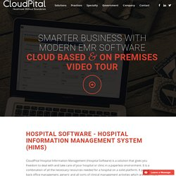Improve your hospital performance by using Cloudpital software