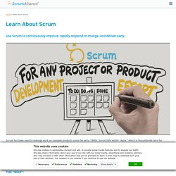 Use Scrum to continuously improve your business