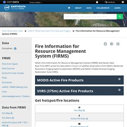 Fire Information for Resource Management System (FIRMS)