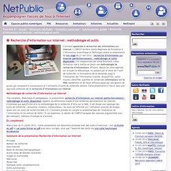 Recherche d'information sur Internet : méthodologie et outils