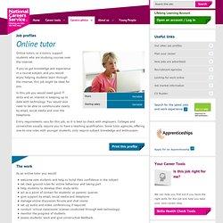 Online tutor Job Information