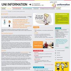 Bienvenue sur le site Uni Information – la newsletter des adhérents