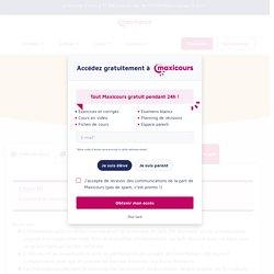 L'information - Cours de Sciences de gestion et numérique Première pro avec Maxicours