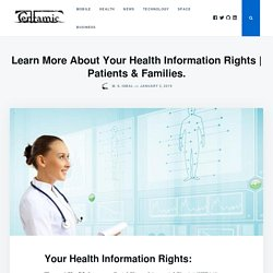 About Your Health Information Rights