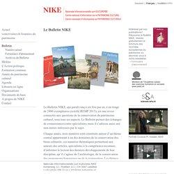 [SZ] NIKE- Bulletin / Nationales Forschungsprogramm Methoden zur Erhaltung von Kulturgütern; Nationale Informationsstelle für Kulturgüter