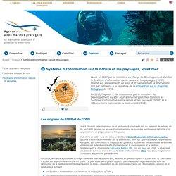Système d'information nature et paysages - Evaluer - Agence des aires marines protégées