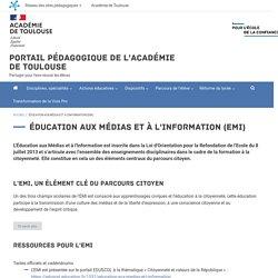 Portail pédagogique de l'académie de Toulouse