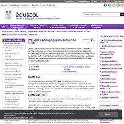 Medias sociaux et éducation - Médias sociaux et usages pédagogiques