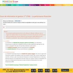 La performance financière