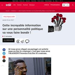 Quelques conseils pour ne pas vous faire avoir sur Internet - France Inter