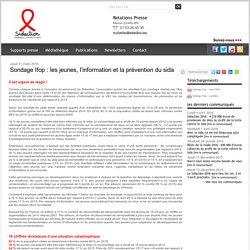 Sondage Ifop : les jeunes, l'information et la prévention du sida - Newsroom Sidaction