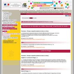 Français - Collège - L'éducation aux médias et à l'information dans les programmes - Se documenter