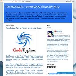 Shahriar Kabir: CodeTyphon: Pascal Visual Programming Studio
