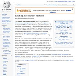 Routing Information Protocol - Wikipedia