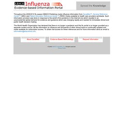 H1N1 and Influenza (Flu) — Evidence-based Medical Information fr