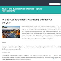 Poland - Country that stays Amazing throughout the year
