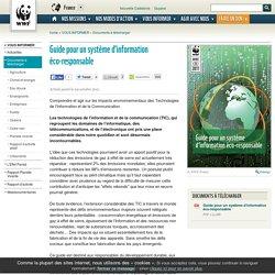 Guide pour un système d'information éco-responsable