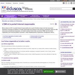 Éducation aux médias et à l'information - L'EMI et le portail Internet responsable
