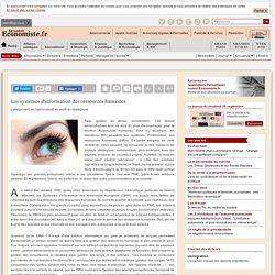 Les systèmes d'information des ressources humaines