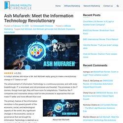 [Ash Mufareh]: Information Technology Revolutionary in 2020?