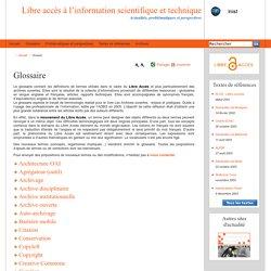 Libre accès à l'information scientifique et technique