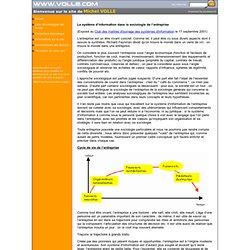 Le système d'information dans la sociologie de l'entreprise