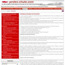 Protec-chute - le 1er site européen d'information et de conseil spécialiste des chutes des personnes âgées - Prprvention