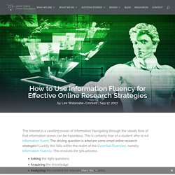 How to Use Information Fluency for Effective Online Research Strategies