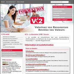 Information et surinformation - VR2 Formation