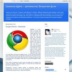 Google Chrome – Download