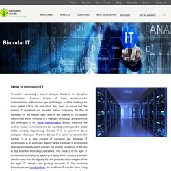 Bimodal IT, Bimodal Information Technology- Happiest Minds
