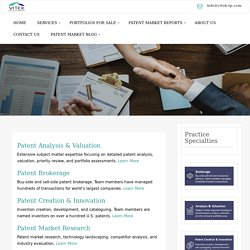 Choose the Right Patent consultant Firm