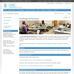Information Technology Services: Teaching and Learning
