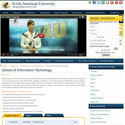 Distance and online Programs In information Technology IT, Online degree offered by TAU