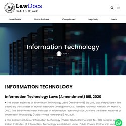 Information Technology - Lawdocs.in
