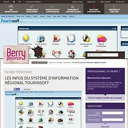 Les infos du système d'information régional Tourinsoft - Partager l'information - Espace Pro