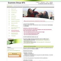 Oral de GIT (Gestion de l'Information Touristique)