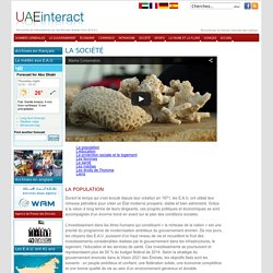 UAE Society : Information - UAEinteract