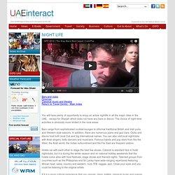 UAE Travel & tourist information Nightlife - UAEinteract.url