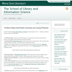 The School of Library and Information Science - Wayne State University Blogs