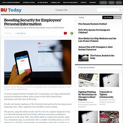Boosting Security for Employees' Personal Information