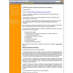 La maîtrise d'ouvrage du système d'information et les utilisateurs