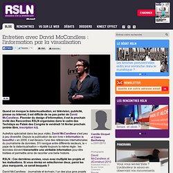 Entretien avec David McCandless : l'information par la visualisation