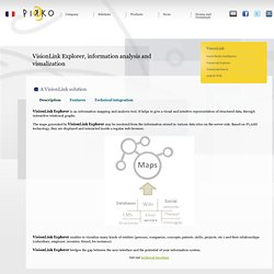 Pikko - Information visualization software