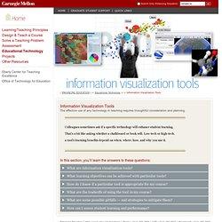 Information Visualization Tools - Enhancing Education - Carnegie Mellon University