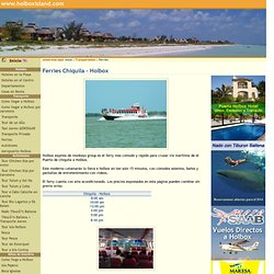 Ferry Boat Information Holbox Travel Guide For Holbox Island Mexico A Quiet Birding and Whale Shark Watching Paradise